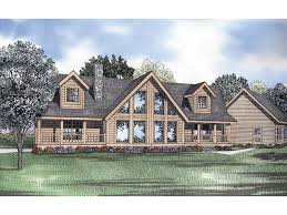 symmetrical house plans bluff rustic log home plan 073d 0044 house plans and more