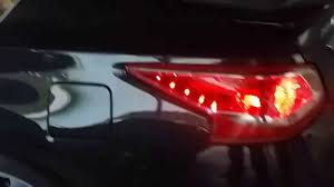 nissan altima tail light cover 2013 altima led tail lights youtube