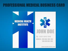 17 awesome business card template for doctors sample templates
