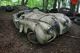 Barn Full Of Classic Cars The Vintage Supercars Rotting Away In A Forest And That U0027s How The