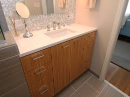 glass vanity tops bathroom vanity with glass tile backsplash