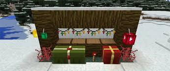 Minecraft Decoration Mod Minecraft Pe Christmas Decorations Mod Decorating Ideas