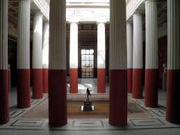 the pompeiianum a reconstructed roman villa in the german town of