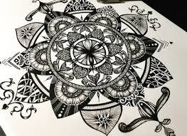mandala wall art drawn blogstodiefor