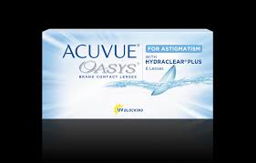 Most Comfortable Contacts For Astigmatism Acuvue Oasys For Astigmatism 2 Week Acuvue Brand Contact Lenses