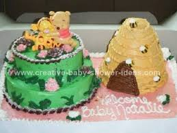 winnie the pooh baby shower cake animal cakes photos and tips