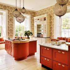 hanging ls for kitchen kitchen ideas contemporary small kitchen design ideas with red