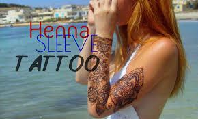how to henna sleeve tattoo stella youtube