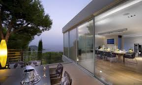 Outdoor Glass Room - dining room excelent rooftop decoration and outdoor dining room
