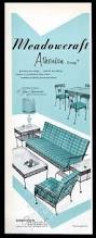 Patio Furniture Birmingham Al by 1954 Lee L Woodard Sons Wrought Iron Patio Furniture Owosso