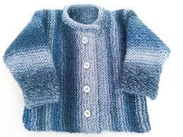 knitting pattern garter stitch baby cardigan one baby