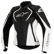 alpinestars motocross gear alpinestars stella jaws perforated leather jacket jafrum