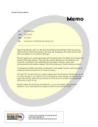 10 best images of example of memo to staff sample memo to all