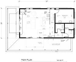 16x24 floor plan help small cabin forum narrow lot home plan 67535 total living area 860 sq ft 2 small log