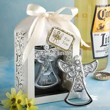 best bridal shower favors wholesale baby shower favor angel cross bottle opener wedding
