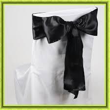 Cheap Sashes Online Get Cheap Black Satin Chair Sashes Aliexpress Com