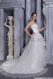 beautiful western ball gown wedding dress with corset 1191 1st