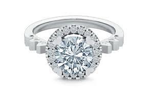 model berlian perhiasan 4 desain cincin yang membuat berlian tak lebih