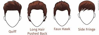 diamond shape hairstyles for men with a diamond face shape