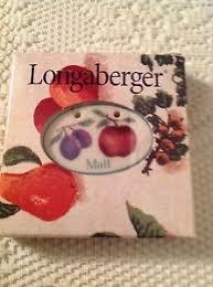 fruit by mail longaberger fruit medley mail tie on nib ebay