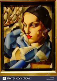 Tamara De Lempicka Art by Tamara De Lempicka Oil Painting Palacio De Bellas Artes Mexico