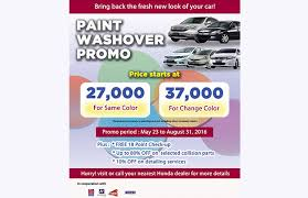 honda philippines showers august promo u2013 there u0027s lots for new