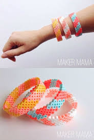 hama bead bracelet diy unique bracelets and hama beads