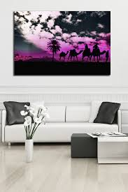 Moroccan Wall Decal by Fluorescent Palace Moroccan Purple Canvas Wall Art Hautelook