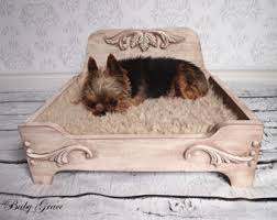 small pet beds luxury dog bed etsy
