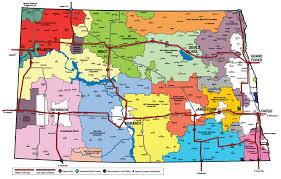 Ddos Map Communities We Serve Dakota Carrier Network