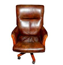 leather office chair by seven seas seating ebth