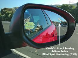 Blind Spot Mirror Reviews Family Review Of New 2013 Mazda3 4 Door Sedan I Grand Touring
