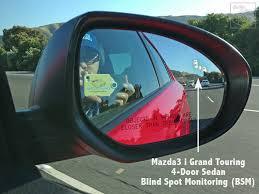 Blind Spot Alert Family Review Of New 2013 Mazda3 4 Door Sedan I Grand Touring