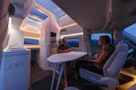 volkswagen concept van interior volkswagen california xxl boasts panoramic roof for stargazing