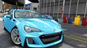 subaru sports car 2016 subaru brz sti concept for gta 4