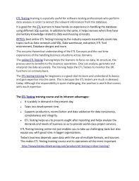 Testing Resume 100 Etl Tester Resume Resume Of Software Engineer Australia