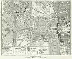 giardini di versailles file versailles gardens map meyers jpg wikimedia commons