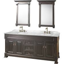 Double Bathroom Vanity Ideas Bathroom Double White Bath Vanity With Sink And Silver Faucet For