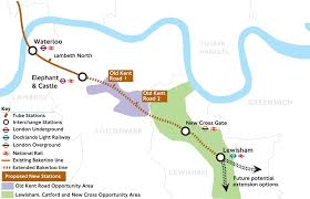 Spirit Route Map by New Stations Pledged As Tfl Reveals Bakerloo Line Extension Plans