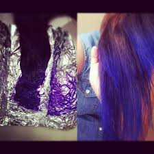 weave hairstyles with purple tips d i y purple ombre hair youtube