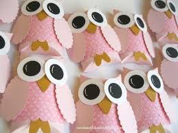 owl decorations for baby shower pretty in pink owl favor boxes baby shower decorations owl