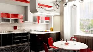 Kitchen Design Mistakes by 1920x1080 Kitchen In Red Desktop Pc And Mac Wallpaper