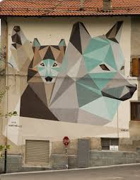 the resistance of wolves our good friend and a resident in turin by the name of riccardo ten colombo has just sent us some shots of his latest wall for notav festival altafelicita