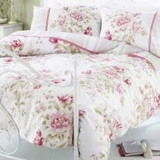Simply Shabby Chic Duvet by Single Rose Pink Floral Designers Shabby Chic Duvet Cover Shabby