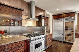 Stainless Steel Kitchen Cabinets 99 Gorgeous Kitchens With Stainless Steel Appliances For 2018