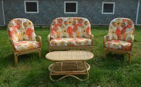 divanetti in vimini da esterno arredamento per esterno mobili da giardino salotti per esterno