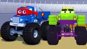 carl super truck monster truck hulk car cars