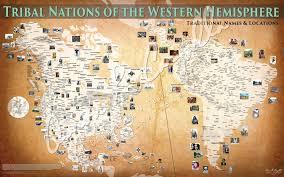 Map Of Western Hemisphere Tribal Nations Of The Western Hemisphere 50