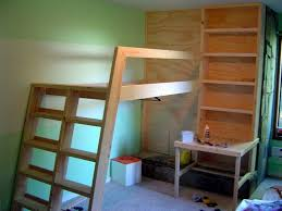 Diy Loft Bed With Desk Diy Loft Bed Your Projects Obn