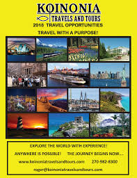 kentucky why use a travel agent images Contact us koinonia travels tours christian group travel png